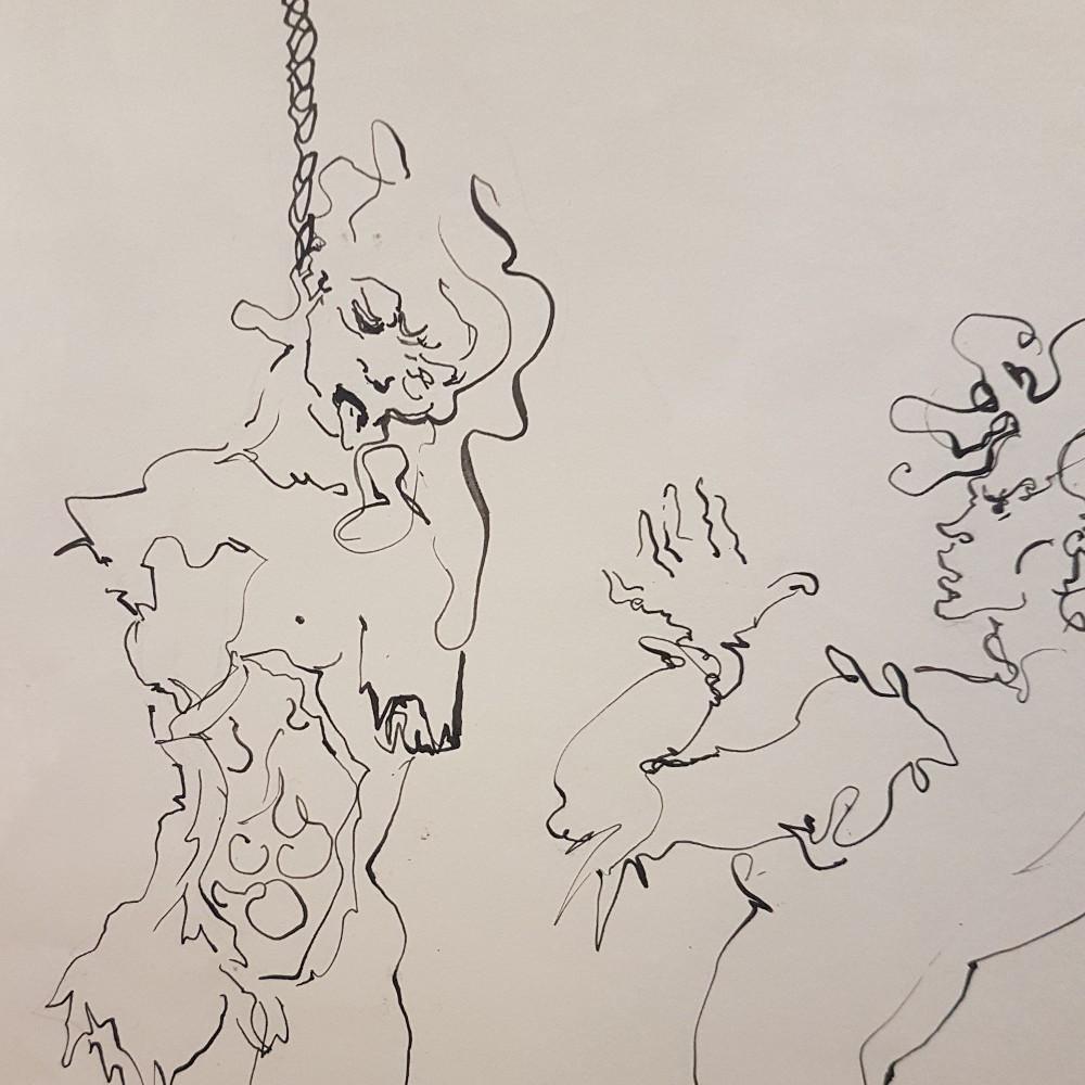 Encre macabre Leonor Fini